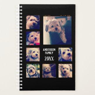 8つの写真とカスタムな写真のコラージュを作成して下さい プランナー手帳