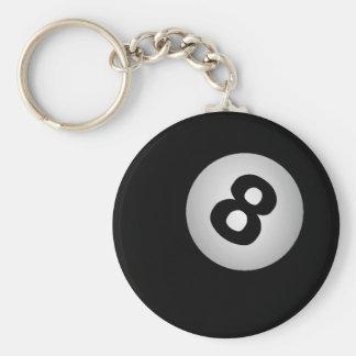 8つの球のキーホルダー キーホルダー