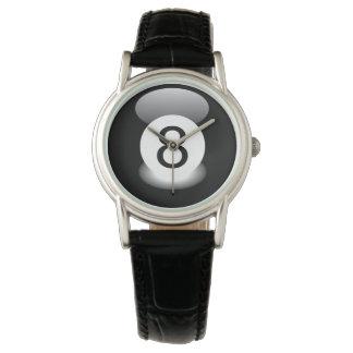 8つの球のビリヤードの腕時計のビリヤード場スペシャル 腕時計