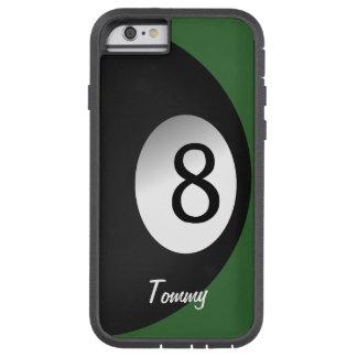 8つの球のプールのゲームのカスタム TOUGH XTREME iPhone 6 ケース