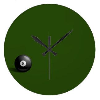 8つの球の時計 ラージ壁時計