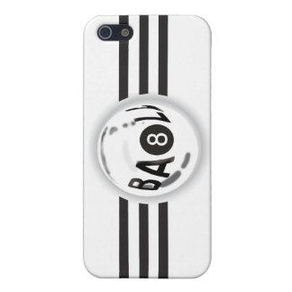 8つの球の黒いストライプ iPhone SE/5/5sケース