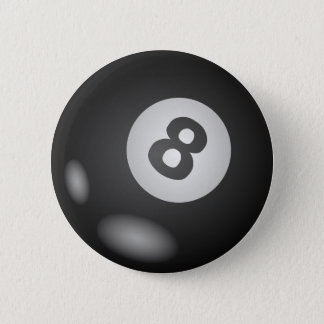 8つの球ボタンのあたり 5.7CM 丸型バッジ
