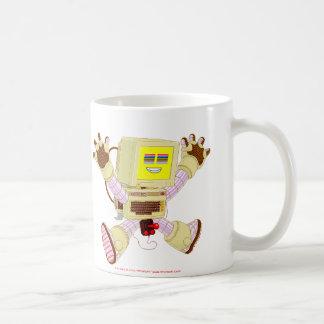 8ビットぶんぶん言う音v1.0のマグ コーヒーマグカップ