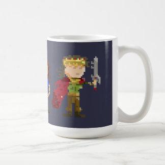 8ビットキャラクター コーヒーマグカップ