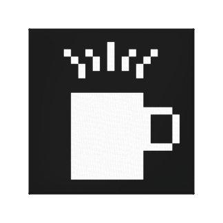 8ビットコーヒー キャンバスプリント