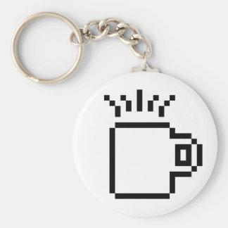 8ビットコーヒー キーホルダー