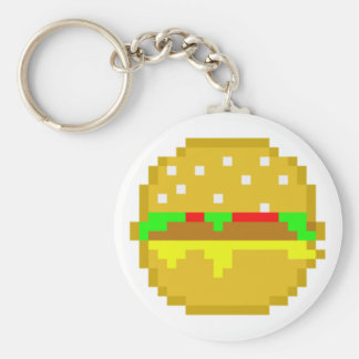 8ビットハンバーガー キーホルダー