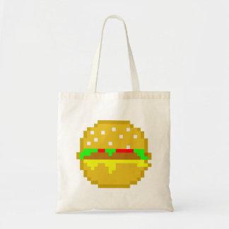 8ビットハンバーガー トートバッグ