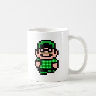 8ビットヒップスター コーヒーマグカップ