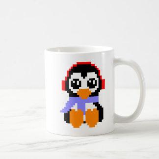 8ビットペンギン コーヒーマグカップ