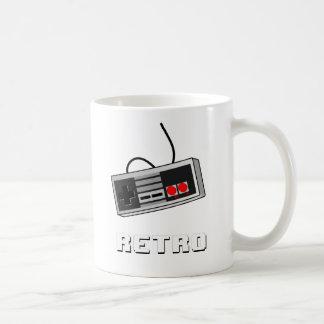 8ビットレトロのコントローラー コーヒーマグカップ