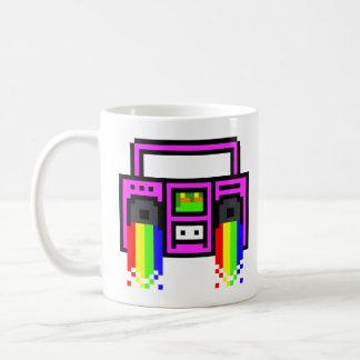 8ビット携帯用ステレオ コーヒーマグカップ