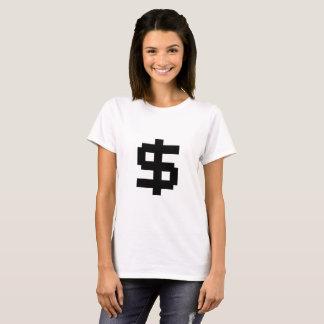8ビット金銭の暗闇T -レディース Tシャツ