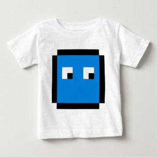 8ビット青のboxie ベビーTシャツ