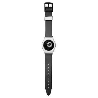 8ボールのビリヤードのカスタムの腕時計 腕時計