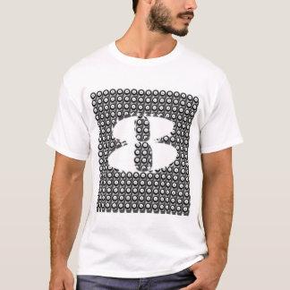 8ボールのビリヤードのプールのグラフィックアートのTシャツ Tシャツ