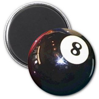 8ボールの玉突の玉 マグネット