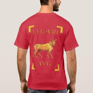 8ローマのLegio VIII OctaviaAugusta VexillumのTシャツ Tシャツ