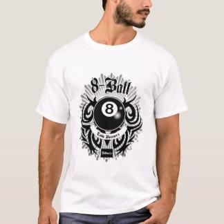 8人の球のテーブルのランナー Tシャツ