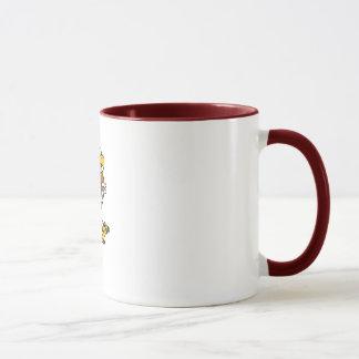 8以下のYAFLイーグルス マグカップ