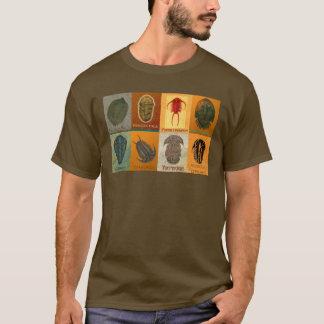 8化石Trilobites Tシャツ