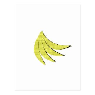 8本のビットバナナ ポストカード