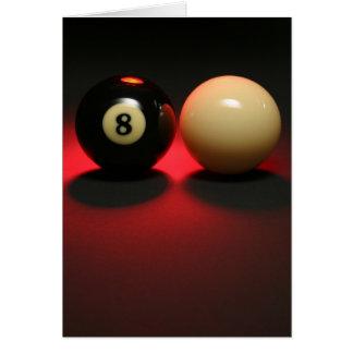 8球および手掛り球 カード