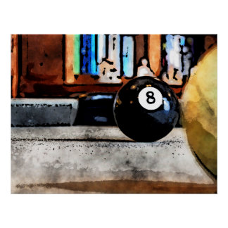 8球のための射撃、発砲 ポスター