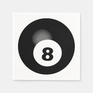 8球 スタンダードカクテルナプキン