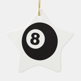 8球 セラミックオーナメント