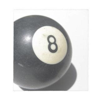 8球 ノートパッド