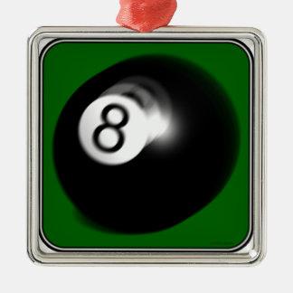 8球 メタルオーナメント
