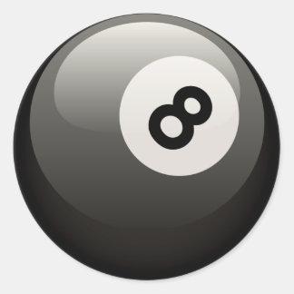 8球 ラウンドシール