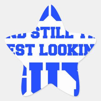 80およびまだベスト見人新しいBLUE.png 星シール