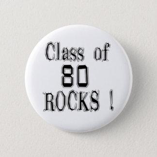 「80個の石のクラス! ボタン 5.7CM 丸型バッジ