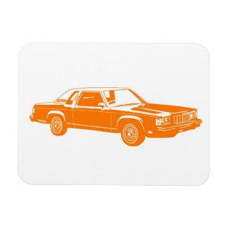 80年代のアメリカ人車 マグネット