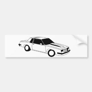 80年代のカットラスOldsmobile バンパーステッカー