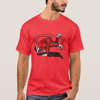 80年代の古い学校のヒップホップBreakdancer Tシャツ