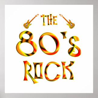80年代の石 ポスター