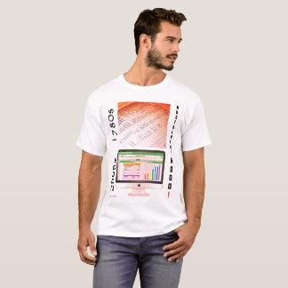 """""""80年代対2000s会計"""" tシャツ"""