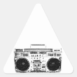 80年代Boombox 三角形シール