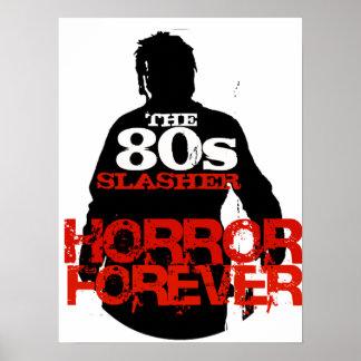 80年代Slasher ポスター