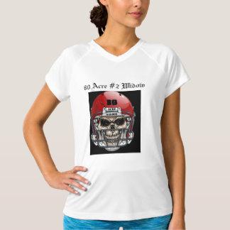 80 # 2寡婦 Tシャツ