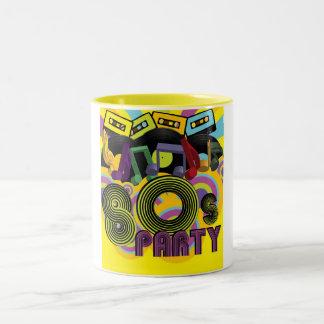 80sパーティー ツートーンマグカップ