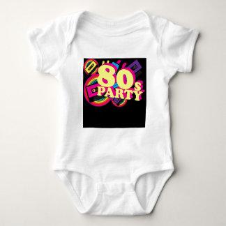 80sパーティー ベビーボディスーツ