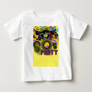 80sパーティー ベビーTシャツ