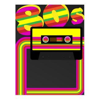 80sレトロのパーティー ポストカード