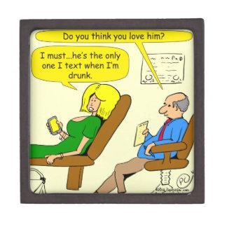 817酔った文字の漫画 ギフトボックス