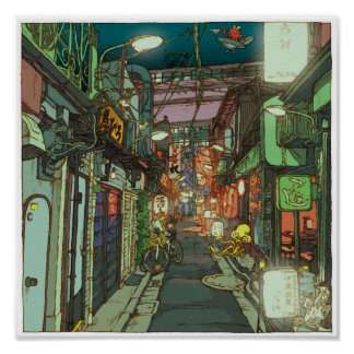 81:Sankaku Chitai/Sangenjaya ポスター